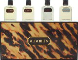 Aramis Miniature Gift Set 7ml Aramis EDT + 7ml Aramis Aftershave + 7ml Black EDT + 7ml Voyager EDT<br />Mænd