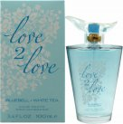 Love2Love Bluebell + White Tea Eau de Toilette 100ml Spray<br />Kvinder