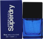 Superdry Blue Eau de Cologne 25ml Spray<br />Mænd