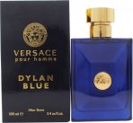 Versace Pour Homme Dylan Blue Aftershave Lotion 100ml Splash<br />Mænd