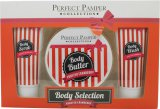 Perfect Pamper Frosted Cranberry Gift Set 100ml Body Scrub + 220ml Body Butter + 100ml Body Wash<br />Unisex