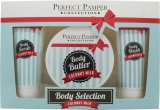 Perfect Pamper Coconut Milk Gift Set 100ml Body Scrub + 220ml Body Butter + 100ml Body Wash<br />Unisex