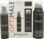 Payot Homme Your Coach Gift Set 100ml Accurate Shave Foam + 50ml Anti-Ageing Total Care Face Cream<br />Mænd