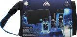 Adidas Adidas Uefa Champions League Edition UEFA Champions League Edition Gift Set 100ml EDT + 150ml Body Spray + 250ml Shower Gel + Bag<br />Mænd