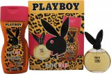 Playboy Play It Wild for Her Gift Set 60ml + 250ml Shower Gel<br />Kvinder
