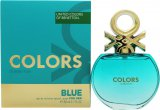Benetton Colors de Benetton Blue Eau de Toilette 80ml Spray<br />Kvinder