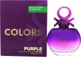 Benetton Colors de Benetton Purple Eau de Toilette 80ml Spray<br />Kvinder