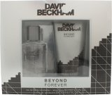 David & Victoria Beckham Beyond Forever Gift Set 60ml EDT + 200ml Shower Gel<br />Mænd
