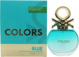 Benetton Colors de Benetton Blue Eau de Toilette 50ml Spray<br />Kvinder
