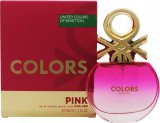 Benetton Colors de Benetton Pink Eau de Toilette 50ml Spray<br />Kvinder