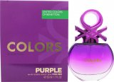 Benetton Colors de Benetton Purple Eau de Toilette 50ml Spray<br />Kvinder