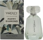 Yardley Poppy Diamond Eau de Toilette 50ml Spray<br />Kvinder