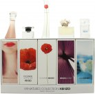 Kenzo Jeu d'Amour Miniatures for Women Gift Set 4ml Jeu D'Amour EDP + 4ml Flower in The Air EDP + 4ml Flower EDP + 5ml Jungle EDP + 5ml L'Eau Kenzo EDP<br />Kvinder