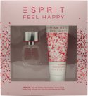 Esprit Feel Happy for Women Gift Set 15ml EDT + 75ml Shower Gel<br />Kvinder