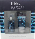 Esprit Night Lights Man Gift Set 30ml EDT + 75ml Shower Gel<br />Mænd