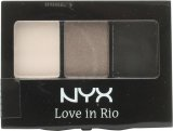 NYX Cosmetics Love In Rio Eyeshadow Palette 3g - 0.1 No Tan Lines Allowed<br />Kvinder