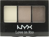 NYX Cosmetics Love In Rio Eyeshadow Palette 3g - 07 Barefoot in The Sand<br />Kvinder