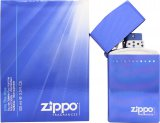 Zippo Into The Blue Gift Set 50ml EDT + 50ml EDT Refill<br />Mænd