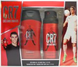 Cristiano Ronaldo Cristiano Ronaldo CR7 CR7 Gift Set 200ml Shower Gel + 150ml Body Spray<br />Mænd