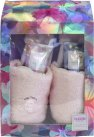 Style & Grace Bubble Boutique Slipper Gift Set 150ml Body Wash + 150ml Body Lotion + Slippers<br />Kvinder