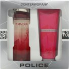 Police Passion Woman Gift Set 100ml EDT + 100ml Body Cream<br />Kvinder