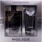 Police Independent Gift Set 100ml EDT + 100ml Be Younique Shower & Shampoo<br />Mænd