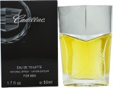 Cadillac Eau de Toilette 50ml Spray<br />Mænd