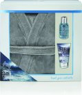 Style & Grace Skin Expert for Him Skin Expert Lazy Days Robe Gift Set 100ml Shampoo + 80ml Body Lotion + Robe<br />Mænd