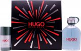 Hugo Boss Hugo Gift Set 200ml EDT + 75ml Deodorant Stick<br />Mænd