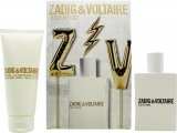 Zadig & Voltaire Just Rock! for Her Gift Set 50ml EDP + 100ml Body Lotion<br />Kvinder