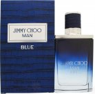 Jimmy Choo Jimmy Choo Man Blue Man Blue Eau de Toilette 50ml Spray<br />Mænd