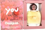 Desigual You Eau de Toilette 50ml Spray<br />Kvinder