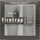 Firetrap For Him Gift Set 150ml Body Spray + 150ml Body Wash<br />Mænd