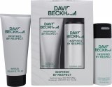David & Victoria Beckham Inspired By Respect David Beckham Inspired By Respect Gift Set 150ml Deodorant Spray + 200ml Shower Gel<br />Mænd