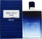 Jimmy Choo Jimmy Choo Man Blue Man Blue Eau de Toilette 100ml Spray<br />Mænd