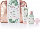 Style & Grace Spa Botanique Cosmetic Bag Gift Set 100ml Body Wash + 100ml Body Lotion + 55g Bath Fizzer + Cosmetic Bag<br />Kvinder