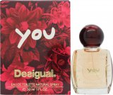 Desigual You Eau de Toilette 30ml Spray<br />Kvinder