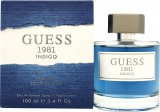 Guess 1981 Indigo Eau de Toilette 100ml Spray<br />Mænd