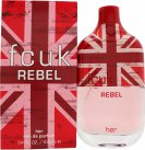 FCUK Rebel For Her Eau De Toilette 100ml Spray<br />Kvinder