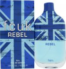 FCUK Rebel For Him Eau De Toilette 100ml Spray<br />Mænd
