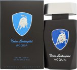 Lamborghini Acqua Eau de Toilette 125ml Spray<br />Mænd