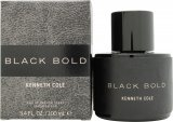 Kenneth Cole Black Bold Eau de Parfum 100ml Spray<br />Mænd