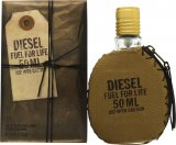Diesel Fuel For Life Eau de Toilette 50ml Spray<br />Mænd