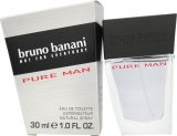 Bruno Banani Pure Man Eau de Toilette 30ml Spray<br />Mænd