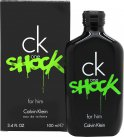Calvin Klein CK One Shock Eau de toilette 100ml Spray<br />Mænd