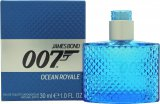James Bond 007 Ocean Royale Eau de Toilette 30ml Spray<br />Mænd