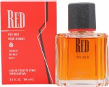 Giorgio Beverly Hills Red Eau De Toilette 100ml Spray<br />Mænd