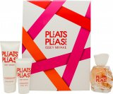 Issey Miyake Pleats Please Gift Set 50ml EDT + 75ml Body Lotion + 30ml Shower Gel<br />Kvinder