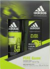 Adidas Pure Game Gavesæt 150ml Deodorant Spray + 250ml Shower Gel<br />Mænd